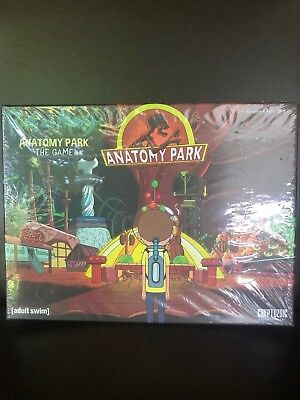 RICK AND MORTY Anatomy Park the Game - Cryptozoic Games Board Game New! &