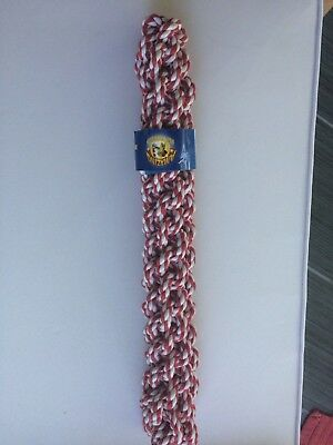 "Rope Dog Toy, Chew/Retrieve, 16"" long,  2"" thick, NEW with FREE SHIPPING!"