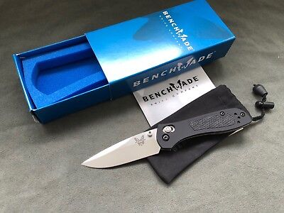 """Benchmade 707 Sequel AXIS Lock  2.95"""" Satin Plain  New Knife w/Box  Discontinued"""