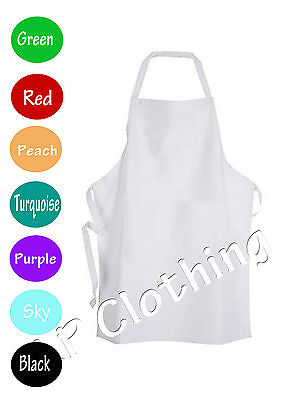 Kids chef apron with pocket baking kitchen school Child children craft painting