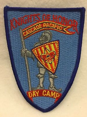 Boy Scouts -  Knights of Honor - Cascade Pacific Day Camp patch