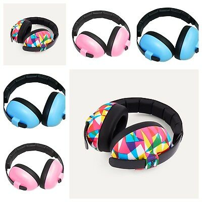 Baby Banz Ear Defenders / Ear Muffs Age 3 months + Geo, pink or blue - free P+P