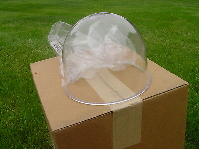 Vintage  174, 175, 176  Federal Signal  Beacon Ray domes new  CLEAR