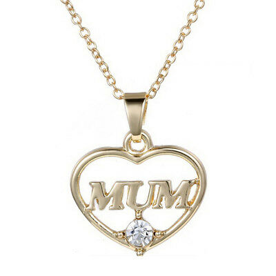 Mother's Jewelry Silver Birthstone Name Necklace Best Gift for Mom G