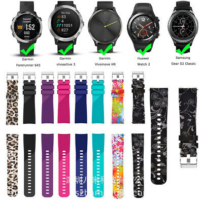 Soft Silicone Bracelet Band Strap For Huawei Watch 2 Smart Sport Classic Pattern