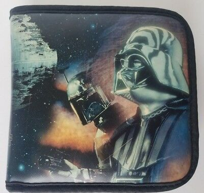 Star Wars CD Case Darth Vader Boba Fett Obi-Wan Kenobi C-3P0 R2-D2