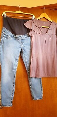Size 10 Maternity Bundle / Newlook / Gap / Jeans