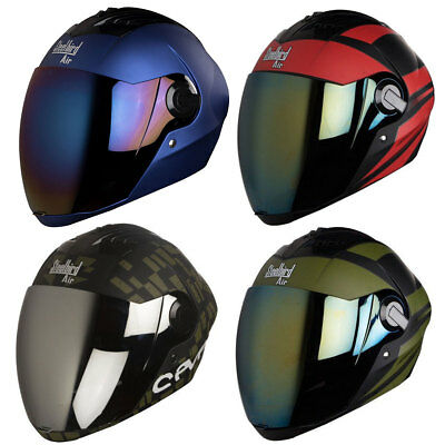 Steelbird Multi Color Choice Air SBA-2 Full Face Motorbike Helmet with Visor M,L