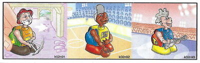 BPZ kinder Basketteur K02 92 France 2001