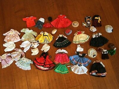 """big lot of clothes/dresses  for your 8"""" Madame Alexander Dolls"""