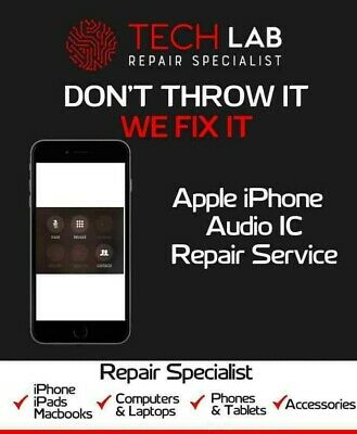 iPhone 7 7 Plus Audio IC Boot loop Audio problem Speaker Repair Service