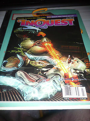 INQUEST MAGAZINE #15 - July 1996 vintage rare trading cards MTG Middle earth