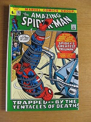 Amazing Spiderman #107 1972 Marvel Bronze Age [VF+ condition] App Spider Slayer