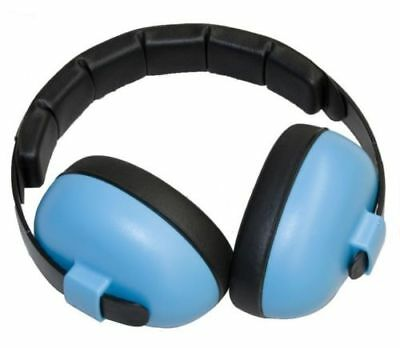 Banz Baby Ear Noise Attenuating Defenders Mini Ear-Muffs 0 - 2 years Blue