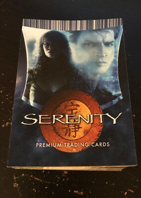 Serenity trading cards 2005 Inkworks Firefly Nathan Fillion Morena Baccarin