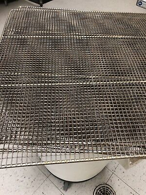 10 3 Dozen Donut Frying Rack, Used in good condition, silver color