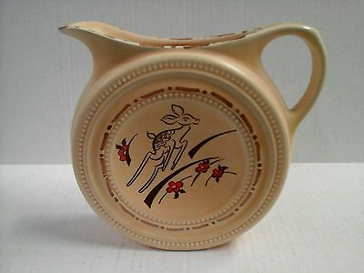 Wade England medallion jug with fawn