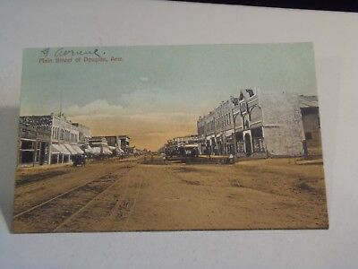 Main Street of Douglas, Arizona Postcard