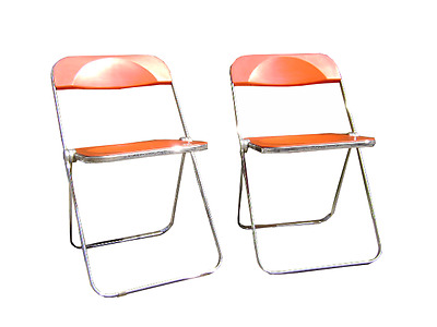 Giancarlo Piretti Anonima Castelli 2 chair ( color rare ) eames modernist
