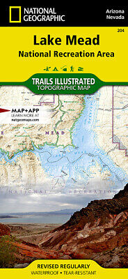 NATIONAL GEOGRAPHIC TRAILS Illustrated UT Moab North & South Map ...