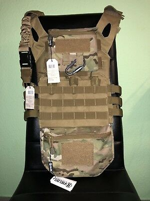 Jump Plate Carrier - Softair - Plattenträger - KSK Weste+ Molle Backpack- SAP