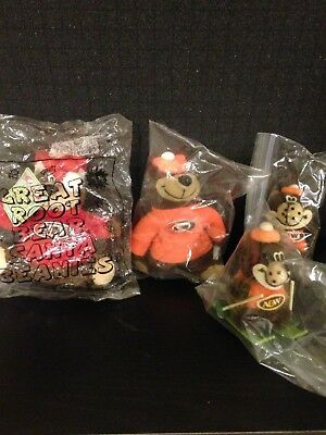 A&w Root Beer Toys 4 Different 2 New In Bag, 2 Gently Used