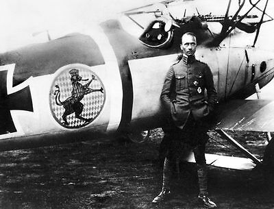 World War I Flying Ace  ** EDUARD RITTER VON SHLEICH **  Photo Print (8.5 x 11)