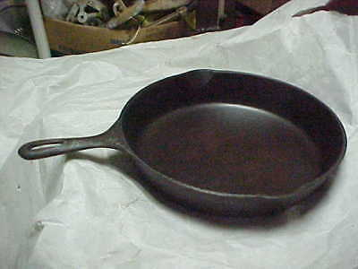 Made In Usa #10 S 11 3/4 Inch Cast Iron Skillet