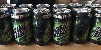 2011 Moutain Dew Call Of Duty Can Limited Edition