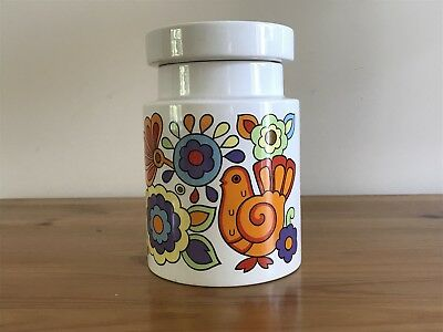 A 1970's Lord Nelson Pottery Gaytime Storage Jar