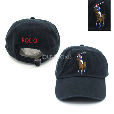 Polo Embroidery Big Pony Sport Outdoor Golf Hat Baseball Cap Unisex NWT Adult