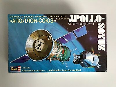 EXTREMELY RARE!  APOLLO SOYUZ Model 1/96 Scale.Ready for assembly.