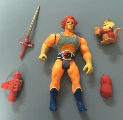 Thundercats Battle-Matic Lion-O orange version complete vintage figure LJN 1985