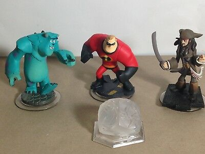 Disney Infinity Starter Pack Playset 3 Char & Crystal Xbox 360 One PS3 PS4 Wii U
