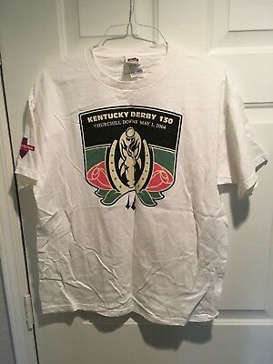 PALACE STATION Casino, Vegas, Vintage T-shirt, XL, KENTUCKY DERBY 2004, 008