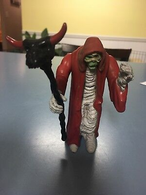 Thundercats Vintage LJN Mumm-Ra Mummy  Action Figure With Staff Mail Away 1985