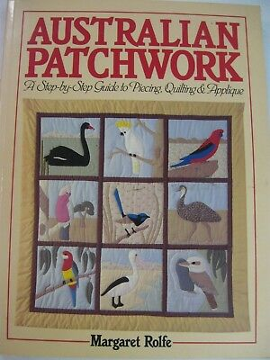 Margaret Rolfe Book Australian Patchwork Flowers Animals Birds Quilt Patterns