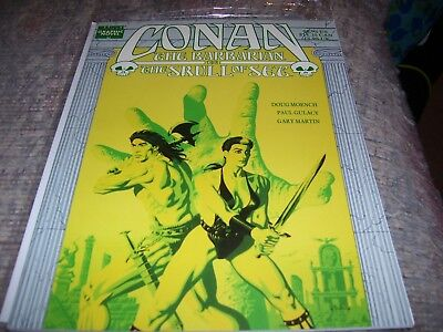 CONAN THE BARBARIAN In The Skull of Set 1989 Doug Moench Paul Gulacy Marvel