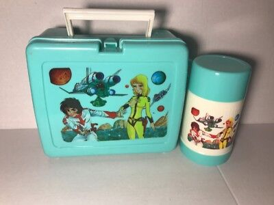 Vintage  Speed Racer  Lunch Box With Thermos