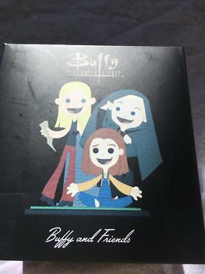 Buffy Vampire Slayer Loot Crate Excl Buffy & Friends Mini Statuette Spike Willow