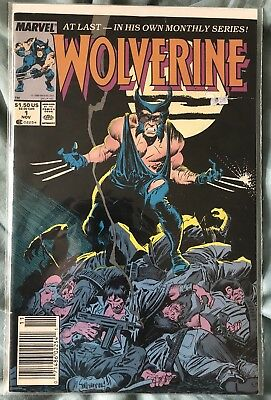 Wolverine #1 1st Appearance as Patch Logan 1st Ongoing Series X-Men
