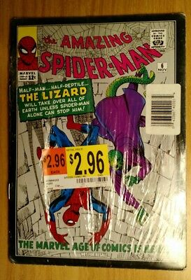 The Amazing Spider-Man #6 November 1963 REPRINT BRAND NEW FACTORY SEALED!