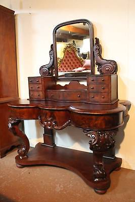A Stunning Victorian Rosewood Dressing Table - Dresser