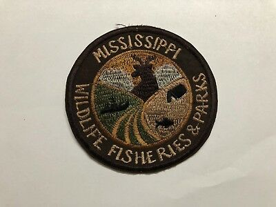 Patch- Mississippi Wildlife Fisheries And Parks   , Being Sold As Is