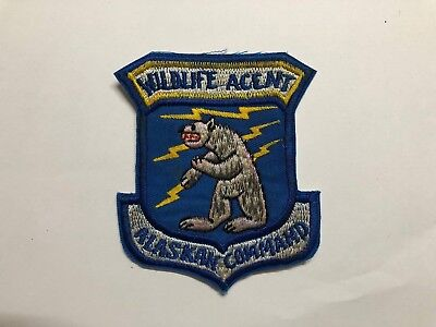 US Alaskan Command Wildlife Agent Patch     , BEING SOLD AS IS