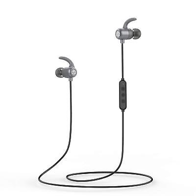 iClever Bluetooth Headphones, Wireless Earbuds with Stereo Music, 10 HOURS CVC X