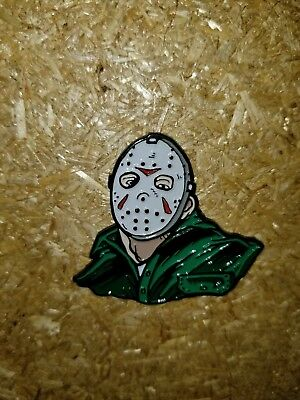 Friday The 13th Part 3 Enamel Pin Jason Vorhees rare LE Horror