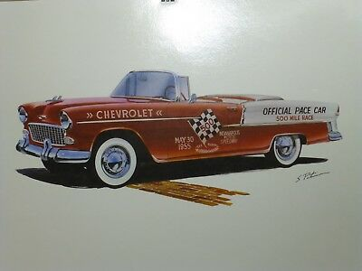 1981 Brasilia Press Official Pace Car Indy 500 1955 Chevrolet Indianapolis 500