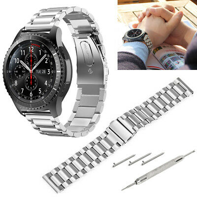 Stainless Steel Bracelet Strap For Samsung Gear S3 Frontier/ Classic Watch Band