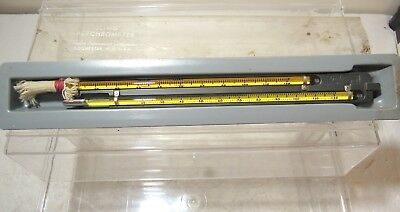 """Sling Psychrometer by Taylor Instrument 9"""" in case"""